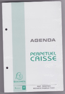Exacompta 38978e recharge mobiles pour agenda perp tuel - Fournitures de bureau pour particuliers ...