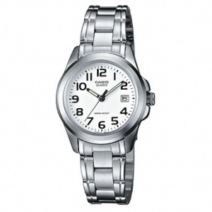 Casio montre homme analogique quartz avec acier inoxydable ltp 1259pd 7bef - Fourniture de bureau paris ...