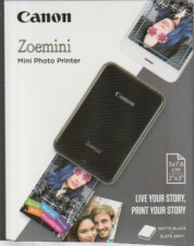 Canon Zoemini PV-123-BKS Mini imprimante photo portable