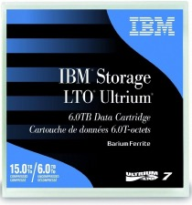 Support de stockage 38L7302 IBM  LTO-7 Ultrium 6 TB / 15 TB