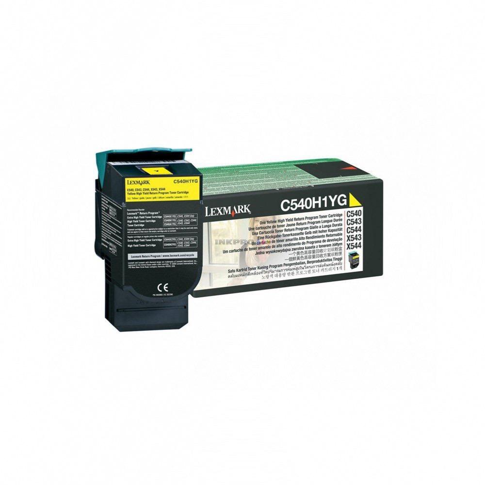 Lexmark c540h1yg toner jaune pour lexmark c 540 544 546 x548 - Fournitures de bureau pour particuliers ...