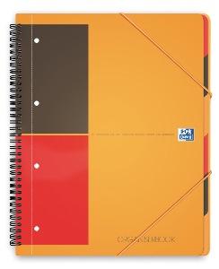 Oxford cahier trieur reliure int grale a4 160 pages petit carreaux - Fourniture de bureau paris ...