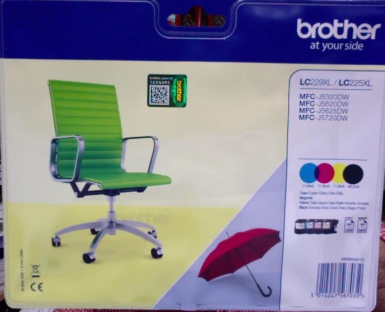 Cartouche imprimante brother lc229xlvalbp pack bk cl pour - Fournitures de bureau pour particuliers ...