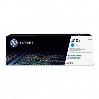 HP 410X CF411X , haut rendement, toner d'origine hp, Cyan