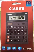 Canon AS-2400 Calculatrice de bureau à  14 chiffres