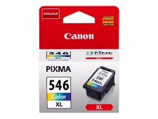 Cartouche Canon CL-546XL Cartouche d'encre 300 pages PIXMA MG2450 MG2550 MG2950 IP2850 MX495