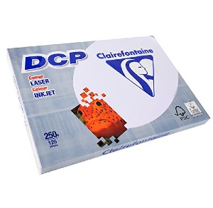 PAPIER CLAIREFONTAINE DCP 1858  250 grs A3