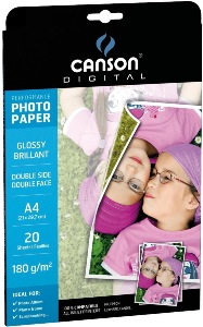 Canson 200004321 Papier PHOTO DOUBLE FACE A4