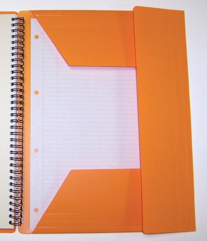 Oxford cahier trieur reliure int grale a4 160 pages petit carreaux - Fournitures de bureau pour particuliers ...