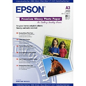 Epson PAPIER PHOTO C13S041315 PAPIER  A3 Photo  20 FEUILLES