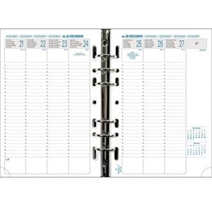 Exacompta recharge exatime 21 14 2x21 cm semainier for Boutique fourniture bureau