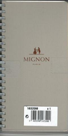 Mignon recharge spiral e agenda 2018 as16r 154x78 mm 1 s 2 pages tranche or 16320m - Fourniture de bureau paris ...