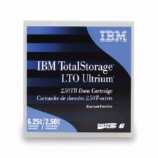 Support de stockage 00V7590  IBM LTO-6 Ultrium 2.5 TB / 6.25 TB BaFe