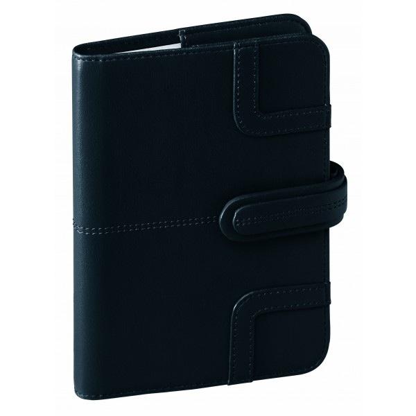 agenda de bureau quo vadis ministre prestige capri toucher cuir noir 286071q. Black Bedroom Furniture Sets. Home Design Ideas