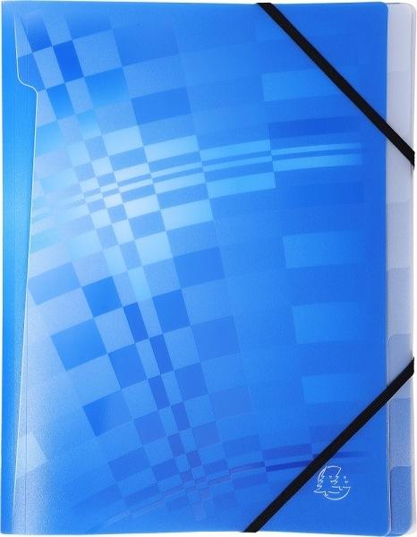 Trieur en polypropyl ne 3 rabats 8 compartiments crystalline a4 promotion ref 52630e - Fournitures de bureau pour particuliers ...